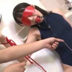 ツインテール黒髪スク水美少女の一生懸命フェラで発射【天海こころ】